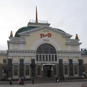 Железнодорожные вокзалы Мысков